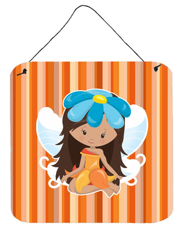 Buy this Fairy Orange Stripes Wall or Door Hanging Prints BB6913DS66