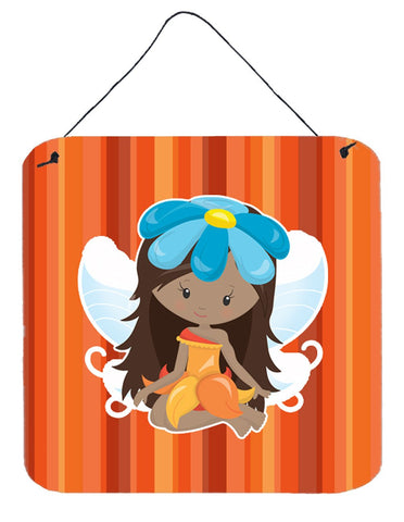 Buy this Fairy Orange Stripes Wall or Door Hanging Prints BB6915DS66