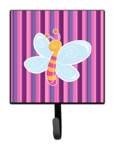 Buy this Dragonfly in Pink Stripes Leash or Key Holder BB6916SH4