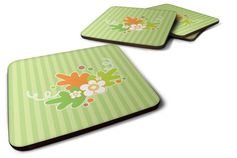 Buy this Fall Leaves Foam Coaster Set of 4 BB6921FC