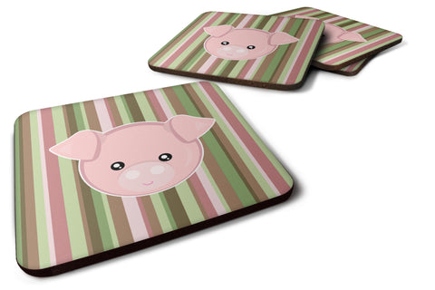 Buy this Pig Face Foam Coaster Set of 4 BB6930FC