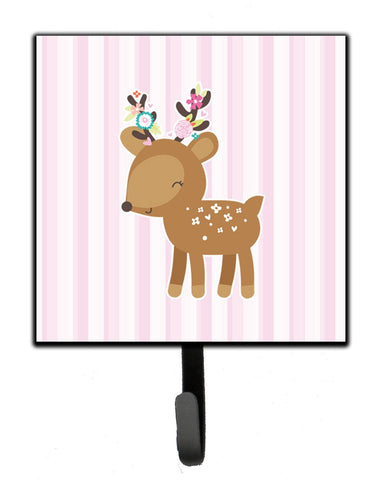 Buy this Deer in Pink Stripes Leash or Key Holder BB6934SH4