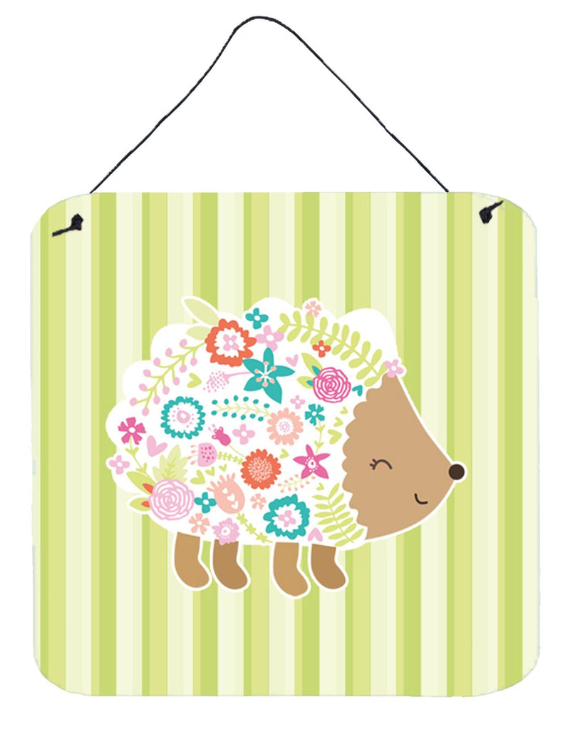 Buy this Flowered Hedgehog Wall or Door Hanging Prints