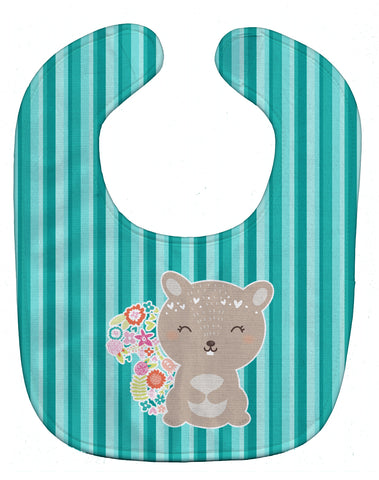 Buy this Flowered Squirrel Baby Bib BB6936BIB