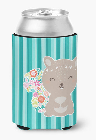 Buy this Flowered Squirrel Can or Bottle Hugger BB6936CC