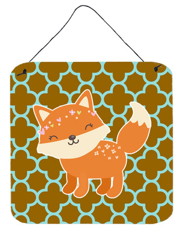 Buy this Fox on Quatrafoil Wall or Door Hanging Prints BB6939DS66