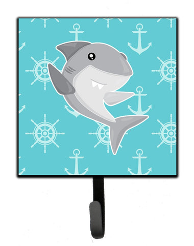 Buy this Shark on Blue Nautical Leash or Key Holder BB6940SH4