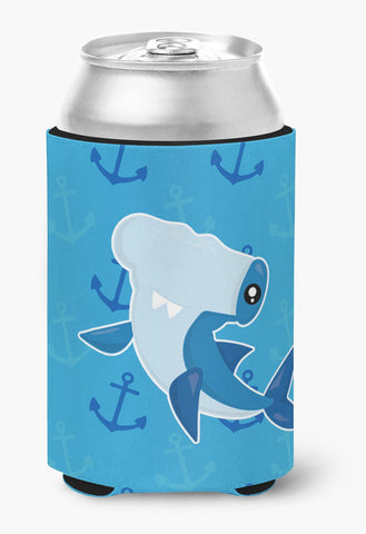 Buy this Hammerhead Shark on Anchors Can or Bottle Hugger BB6941CC