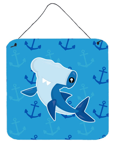 Buy this Hammerhead Shark on Anchors Wall or Door Hanging Prints BB6941DS66