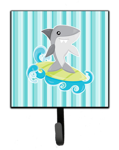 Buy this Surfin Shark on Stripes Leash or Key Holder BB6942SH4