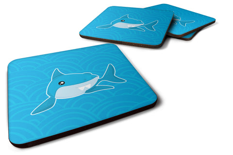 Buy this Shark with Waves Foam Coaster Set of 4 BB6943FC