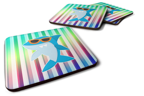 Buy this Cool Kat Shark Foam Coaster Set of 4 BB6944FC