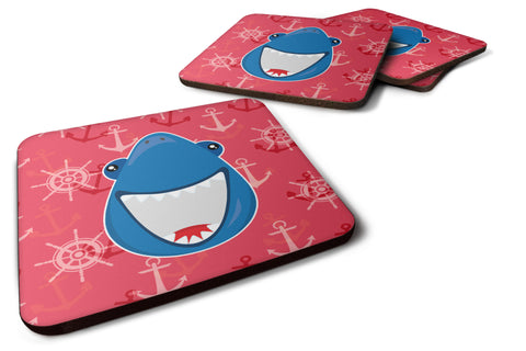 Buy this Shark Wide Open Foam Coaster Set of 4 BB6945FC