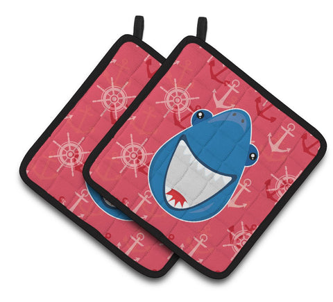 Buy this Shark Wide Open Pair of Pot Holders BB6945PTHD