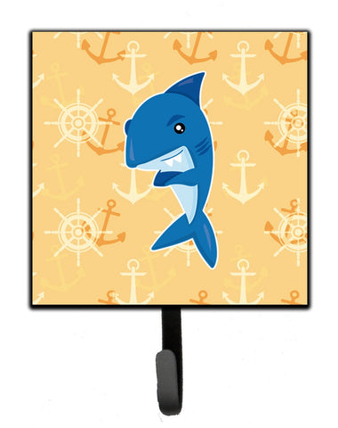 Buy this Shark on Beige Nautical Leash or Key Holder BB6946SH4