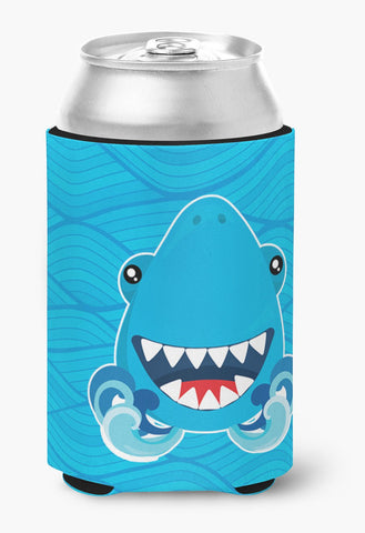 Buy this Shark Open Wide in Waves Can or Bottle Hugger BB6947CC