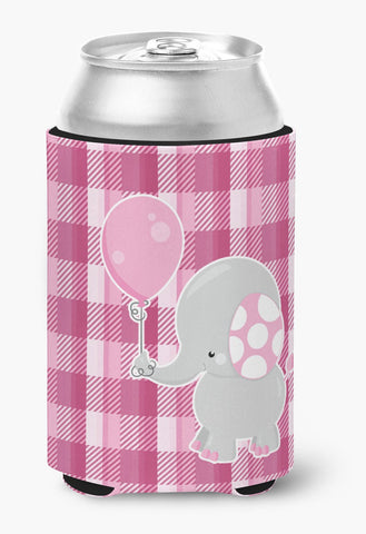 Buy this Elephant with Pink Balloon Can or Bottle Hugger BB6948CC