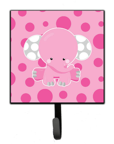 Buy this Elephant with Pink Polkadots Leash or Key Holder BB6949SH4