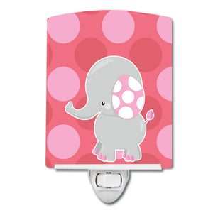 Buy this Elephant Big Polkadots Ceramic Night Light BB6950CNL
