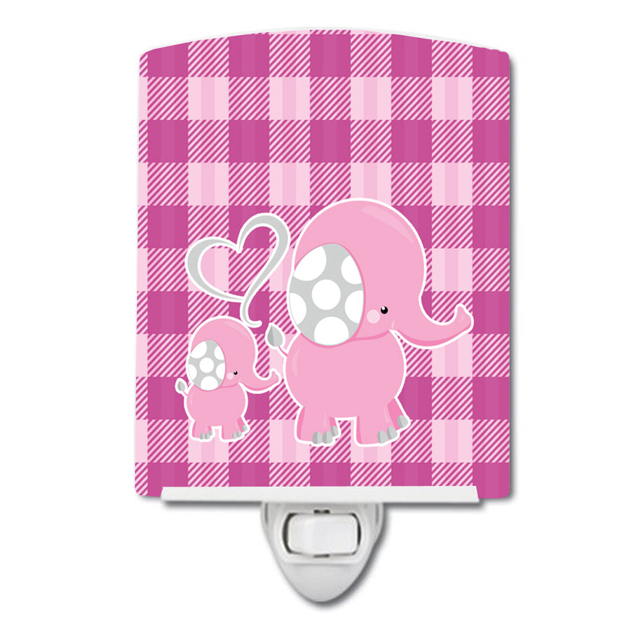 Buy this Elephant and Baby Ceramic Night Light BB6953CNL