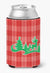 Christmas Tree Reindeer Red Can or Bottle Hugger BB6972CC by Caroline's Treasures