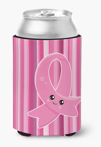 Buy this Breast Cancer Awareness Ribbon Face Can or Bottle Hugger BB6978CC