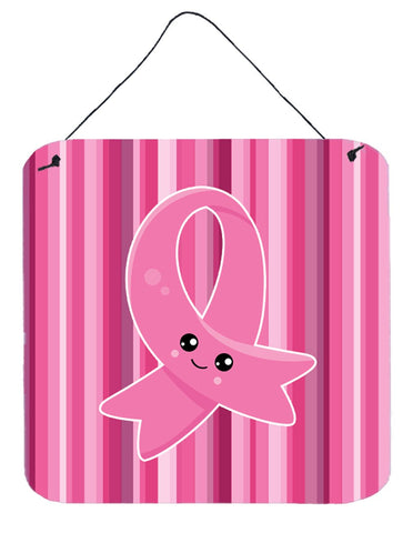 Buy this Breast Cancer Awareness Ribbon Face Wall or Door Hanging Prints BB6978DS66