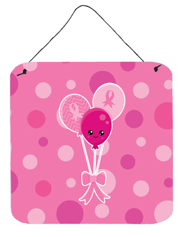 Buy this Breast Cancer Awareness Ribbon Balloons Wall or Door Hanging Prints BB6979DS66
