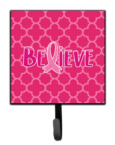 Buy this Breast Cancer Awareness Ribbon Believe Leash or Key Holder BB6980SH4