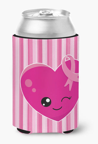 Buy this Breast Cancer Awareness Ribbon Heart Can or Bottle Hugger BB6982CC