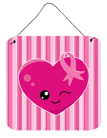 Buy this Breast Cancer Awareness Ribbon Heart Wall or Door Hanging Prints BB6982DS66