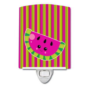Buy this Watermelon Face Ceramic Night Light BB6987CNL