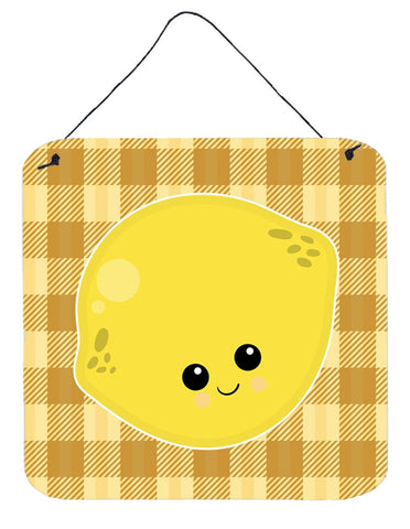 Buy this Lemon Face Wall or Door Hanging Prints BB6990DS66