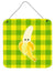 Banana Face Wall or Door Hanging Prints BB6993DS66 by Caroline's Treasures