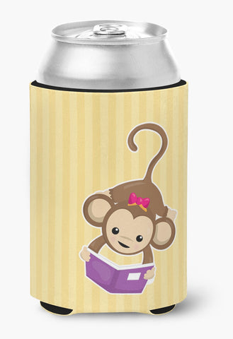 Buy this Monkey Reading Can or Bottle Hugger BB7015CC