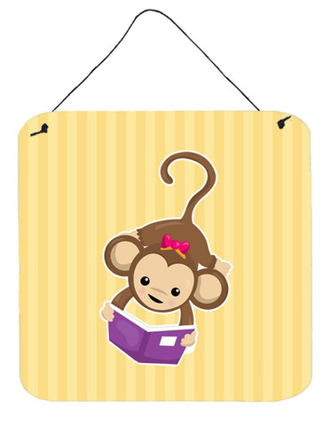 Buy this Monkey Reading Wall or Door Hanging Prints BB7015DS66