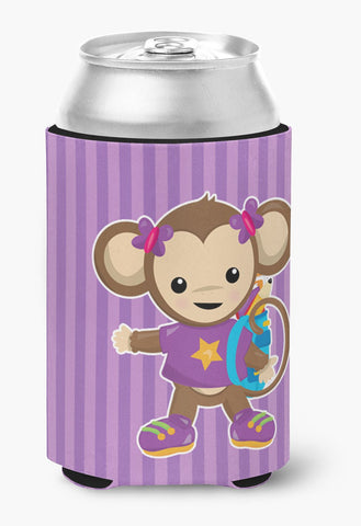 Buy this Monkey with Backpack Can or Bottle Hugger BB7017CC
