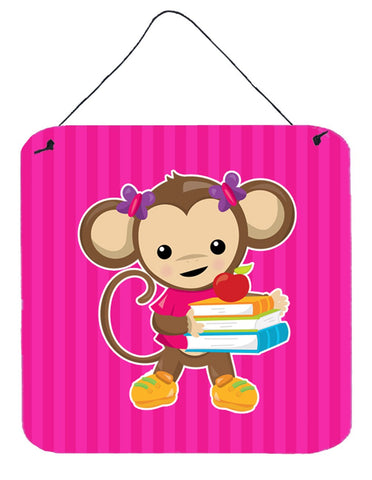 Buy this Monkey and School books Wall or Door Hanging Prints BB7018DS66