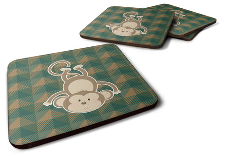 Buy this Monkey Foam Coaster Set of 4 BB7023FC