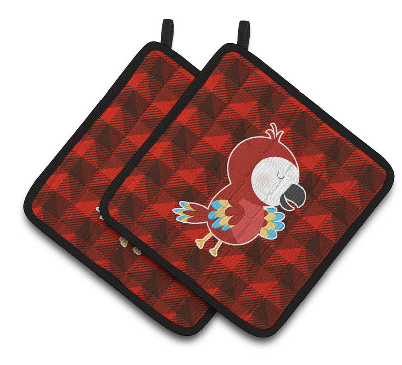 Buy this Parrot Pair of Pot Holders BB7024PTHD