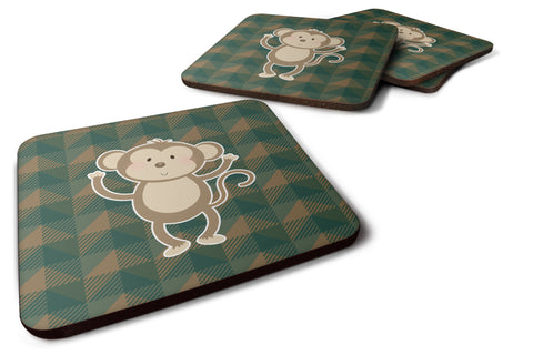 Buy this Monkey Foam Coaster Set of 4 BB7025FC