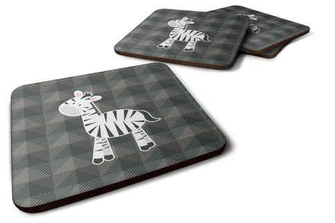 Buy this Zebra Foam Coaster Set of 4 BB7026FC