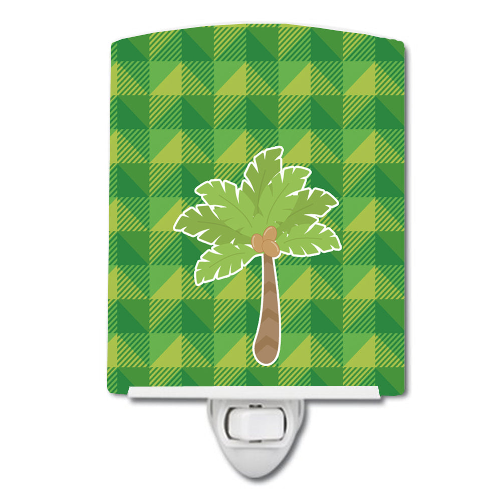 Palm Tree Ceramic Night Light BB7027CNL by Caroline's Treasures