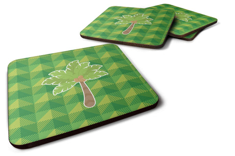 Buy this Palm Tree Foam Coaster Set of 4 BB7027FC