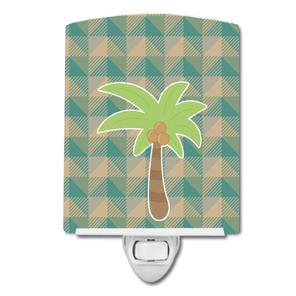 Palm Tree Ceramic Night Light BB7028CNL by Caroline's Treasures