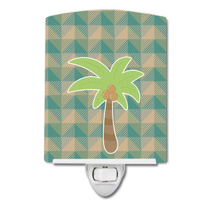 Buy this Palm Tree Ceramic Night Light BB7028CNL
