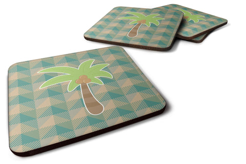 Buy this Palm Tree Foam Coaster Set of 4 BB7028FC
