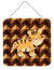 Tiger Wall or Door Hanging Prints BB7029DS66 by Caroline's Treasures