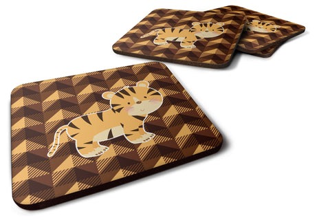Buy this Tiger Foam Coaster Set of 4 BB7029FC