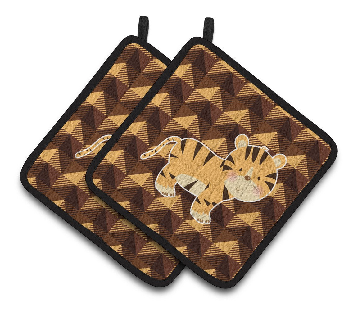 Buy this Tiger Pair of Pot Holders BB7029PTHD